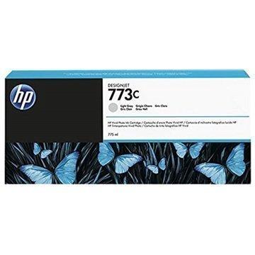 HP 773C Mustepatruuna C1Q44A Vaaleanharmaa