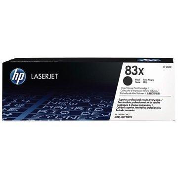 HP 83X Toner CF283X Musta