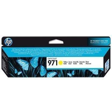 HP 971 Mustepatruuna CN624AE Keltainen