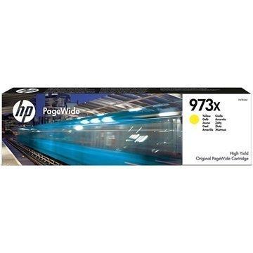 HP 973X Mustepatruuna F6T83AE Keltainen