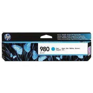 HP 980 Mustepatruuna D8J07A Syaani