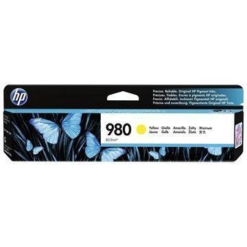 HP 980 Mustepatruuna D8J09A Keltainen