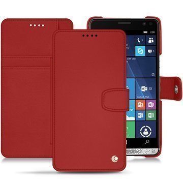 HP Elite X3 Noreve Tradition B Wallet Case Punainen