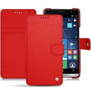 HP Elite X3 Noreve Tradition B Wallet Case Tomaatinpunainen