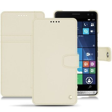 HP Elite X3 Noreve Tradition B Wallet Case Valkoinen