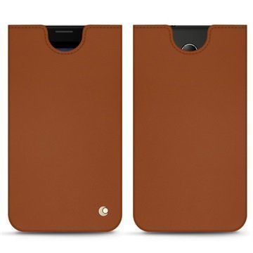 HP Elite X3 Noreve Tradition C Pouch Ruskea
