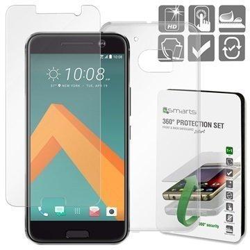 HTC 10 4smarts 360 Suojaussetti Läpinäkyvä