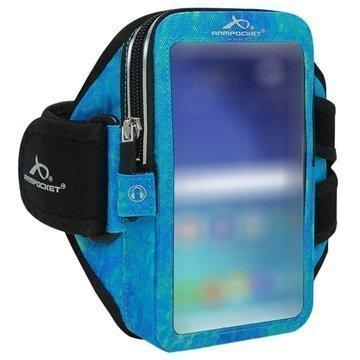 HTC 10 Armpocket Ultra i-35 Käsivarsikotelo S Arktisen Sininen