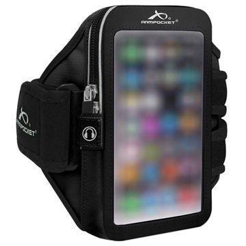HTC 10 Armpocket Ultra i-35 Käsivarsikotelo S Musta