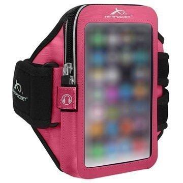 HTC 10 Armpocket Ultra i-35 Käsivarsikotelo S Pinkki
