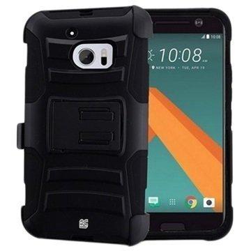 HTC 10 Beyond Cell Armor Combo Suojakuori Musta