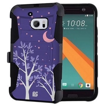HTC 10 Beyond Cell Armor Combo Suojakuori Purple Night