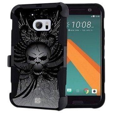 HTC 10 Beyond Cell Armor Combo Suojakuori Wing Skull