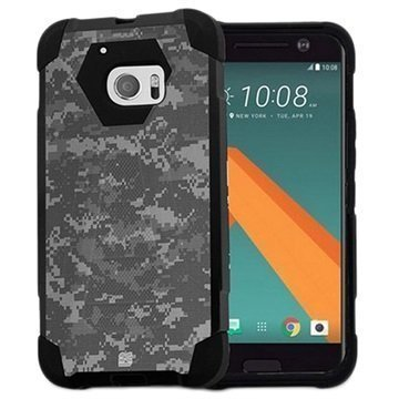 HTC 10 Beyond Cell Hyber V2 Shell Case Digital Camouflage