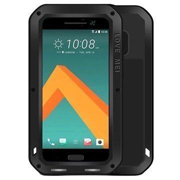 HTC 10 Love Mei Powerful Suojakuori Musta