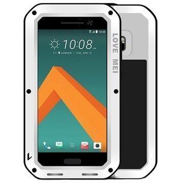 HTC 10 Love Mei Powerful Suojakuori Valkoinen