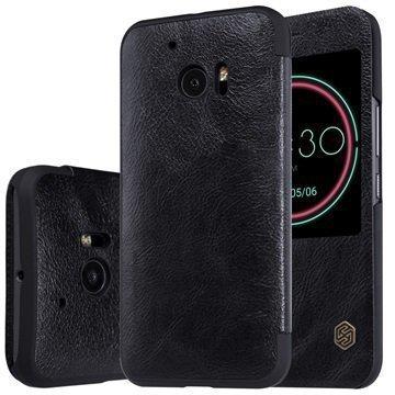 HTC 10 Nillkin Qin Smart Läppäkotelo Musta