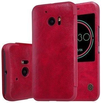 HTC 10 Nillkin Qin Smart Läppäkotelo Punainen