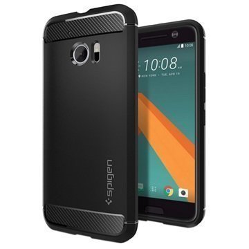 HTC 10 Spigen Rugged Armor Case Black
