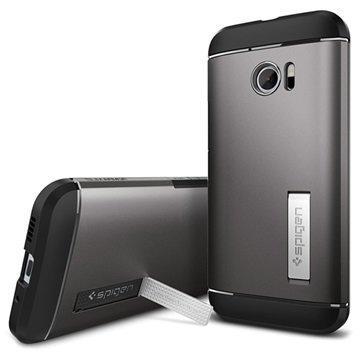 HTC 10 Spigen Slim Armor Suojakuori Gunmetal