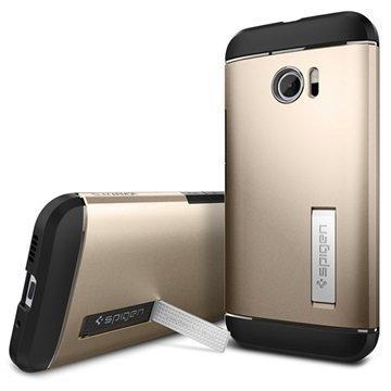 HTC 10 Spigen Slim Armor Suojakuori Samppanjakulta