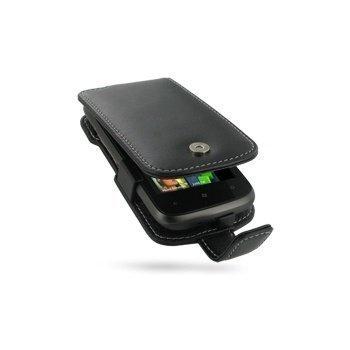 HTC 7 Mozart PDair Leather Case 3BHT7MF41 Musta