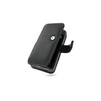 HTC 7 Pro PDair Leather Case 3BHT7PB41 Musta