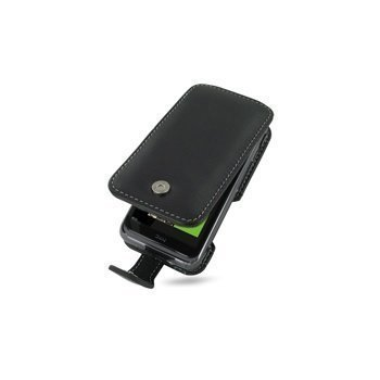 HTC 7 Pro PDair Leather Case 3BHT7PF41 Musta