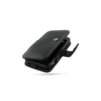 HTC 7 Trophy PDair Leather Case 3BHT7YB41 Musta