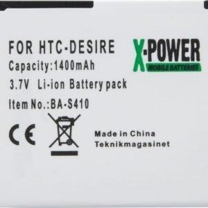 HTC BA S410 -tarvikeakku