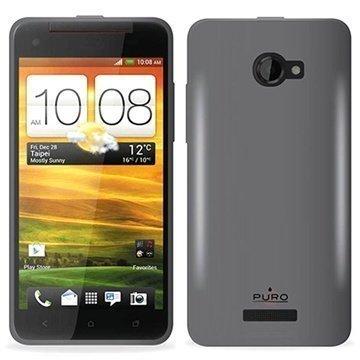 HTC Butterfly Puro Silikonikuori Musta