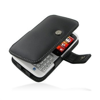HTC ChaCha PDair Leather Case 3BHTCCB41 Musta