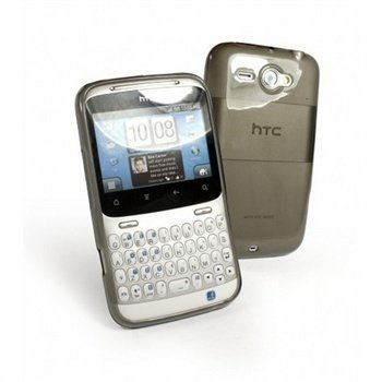 HTC ChaCha Tuff-Luv Gel Skin Case Graphite