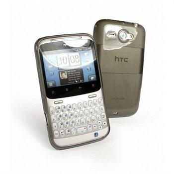 HTC ChaCha Tuff-Luv Gel Skin Case Graphite