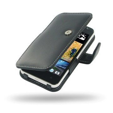HTC Desire 300 PDair Leather Case 3BHTS3B41 Musta