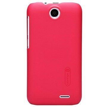 HTC Desire 310 Nillkin Super Frosted Shield Suojakotelo Punainen