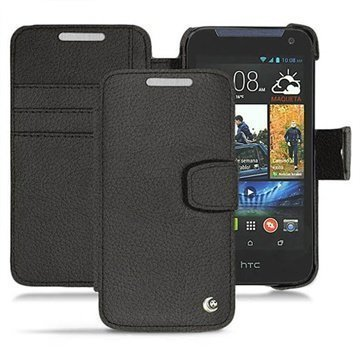 HTC Desire 310 Noreve Tradition B Wallet Leather Case Anthracite