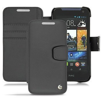 HTC Desire 310 Noreve Tradition B Wallet Leather Case Black