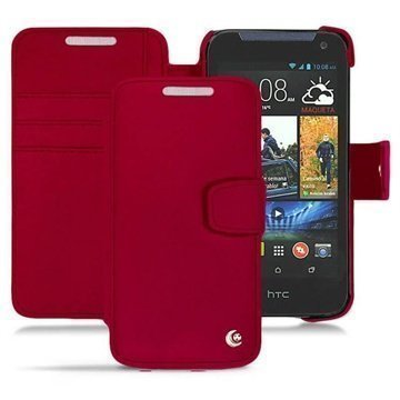 HTC Desire 310 Noreve Tradition B Wallet Leather Case Red