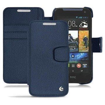 HTC Desire 310 Noreve Tradition B Wallet Nahkakotelo Indigonsininen