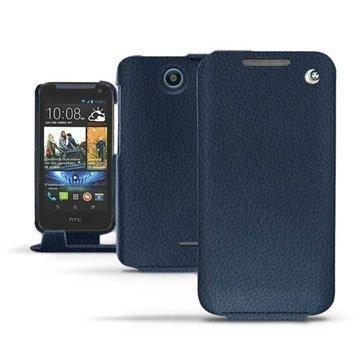 HTC Desire 310 Noreve Tradition Flip Nahkakotelo Indigo