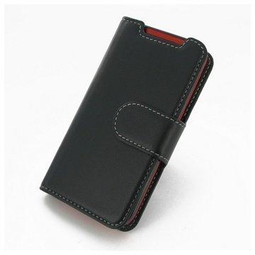 HTC Desire 310 PDair Leather Case NP3BHT31B41 Musta