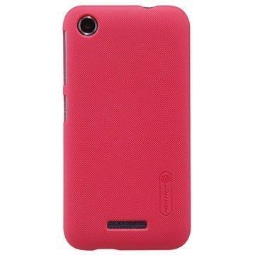 HTC Desire 320 Nillkin Super Frosted Shield Suojakuori Punainen