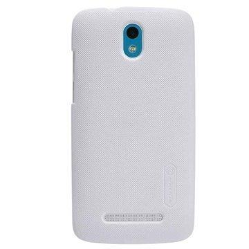 HTC Desire 500 Nillkin Super Frosted Shield Suojakotelo Valkoinen