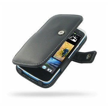 HTC Desire 500 PDair Leather Case 3BHTS5B41 Musta
