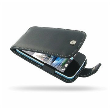 HTC Desire 500 PDair Leather Case 3BHTS5F41 Musta