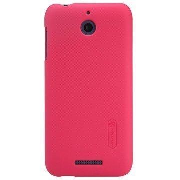 HTC Desire 510 Nillkin Super Frosted Suojakotelo Punainen