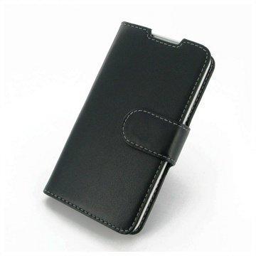 HTC Desire 516 Dual Sim PDair Leather Case NP3BHT16B41 Musta