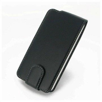 HTC Desire 516 Dual Sim PDair Leather Case NP3BHT16F41 Musta