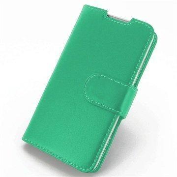 HTC Desire 516 Dual Sim PDair Leather Case NP3QHT16B41 Turkoosi